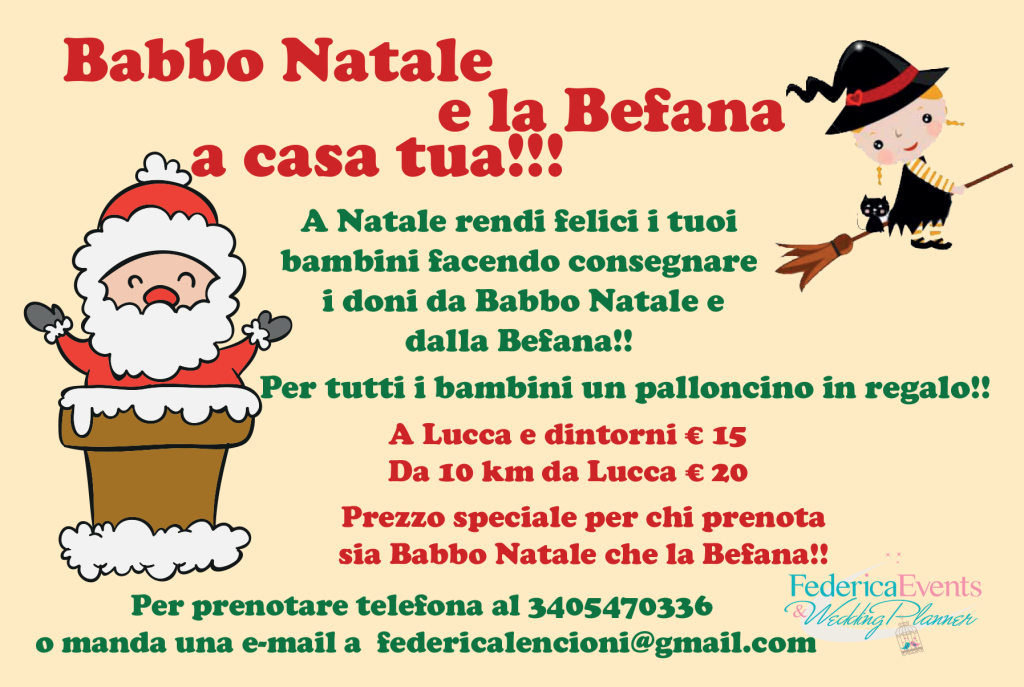 Babbo Natale Lucca